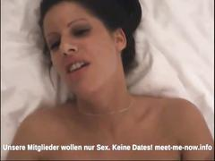 German couple fucking and making a hot sex tape