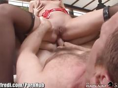 Rocco ass eating feet worshiping threesome
