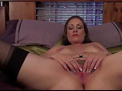 Sophia delane hot mom plays with herself