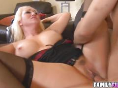 Cutie alana evans having a big dick in her pussy