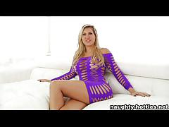 Naughty-hotties.net - blonde milf takes bbc