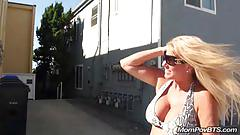 mature, mompovbts.com, blonde, beach, busty, big boobs, flashing, milf, old cunt, outdoors, point of view, trimmed cunt, cock sucking, huge tits, round booty