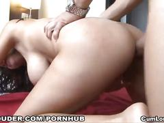 Slut likes some hardcore anal sex action