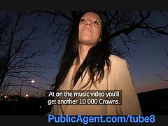 Publicagent pretty women getting fucked through her nylon pantyhoes