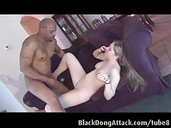 hardcore, blackdongattack.com, strip tease, blonde, slim, reverse cowgirl, doggystyle, interracial, bbc, big black cock, dick sucking, deepthroat, shaved snatch
