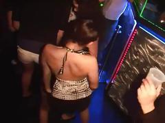 amateur, public, party, pornhub.com, club, dancing, girl-on-girl, booty-shake, big-boobs, spring-break, teasing, lingerie, petite, slim, babe, brunette