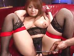 Rough porn session with big tits milf, natsumi mitsu