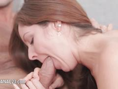 Licking in a casting scene
