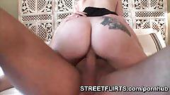 Spanish hotel lady with glasses sucks cock with passion