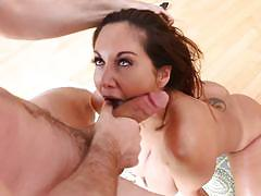 Hot milf ava addams getting a serving of splooge