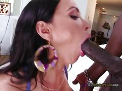Nikkis heads for a black mans monster dick