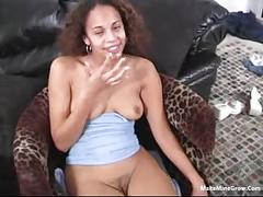 Hot ebony nikki have a good time