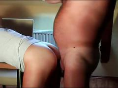 Lover my wife gets pissing inside her asshole