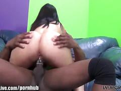Immorallive curvy mature sheila marie fucked by prince yashua's black cock