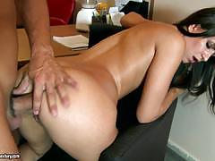 Cindy carson pounded in her butthole
