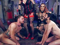 anal, femdom, bdsm, strap on, cosplay, cock torture, busty milfs, ball gag, mistresses, divine bitches, kink, mike panic, bella rossi, cherry torn, veruca james, jay wimp