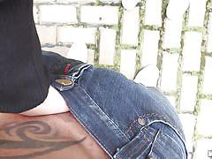 Slutty teen with indecent behavior