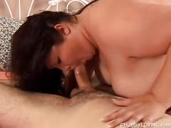 Beautiful busty japanese bbw is a super hot fuck