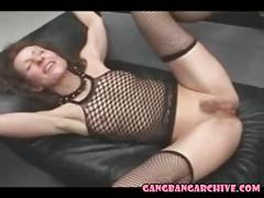 Gangbang archive two german milfs gangbanged in hotel