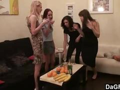 Lesbian party at my home