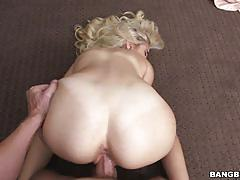 Naomi woods drilled deep in her tight minge