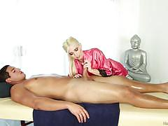 Seductive massage babe christie stevens