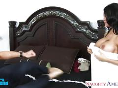 Busty brunette peta jensen suck and fuck a big cock
