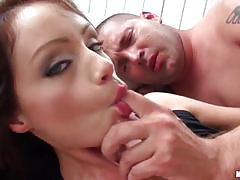 sophie lynx, brunette, hardcore, babe, hungarian, european, gorgeous, beauty, spoon, glamour