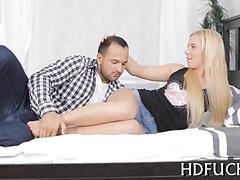 Russian slut has a fuck she never actually had before