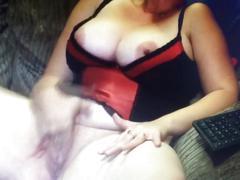 Wife bate on webcam too orgasm
