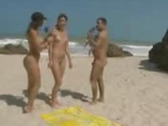 beach, gostosa, bunda, morena, peito, sem, panico, praia, nudismo, tarja
