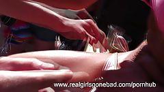 teen, realgirlsgonebad.com, busty, young, big boobs, blow job, boat sex, orgy, party, bikini, natural tits, round booty, flashing