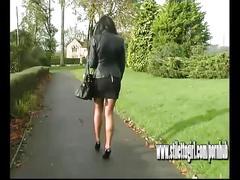 brunette, fetish, stilettogirl, kink, high-heels, stiletto, legs, feet, foot, foot-fetish, babe, nylon, stockings, raven, tease, outdoor