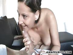 Amateur girlfriend wild sex action