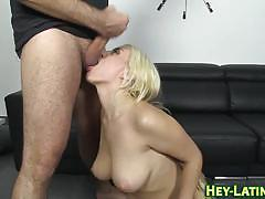 Blondie fesser - i've never fucked a fan before.