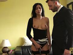 Rampant julia de luca gets her pussy nailed