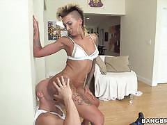 Bella bellz drilled in her asshole