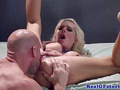 Blonde nina elle video from real wife stories!