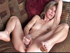 masturbation, dildo, solo, wife, mature