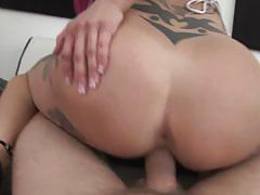 Anna bell peaks stuffed in her punk pussy