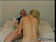 Ed fucks a hot blonde with meaty pussy lips