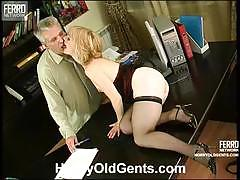 Young beauty inessa gets nailed in the office