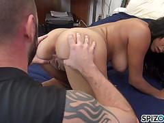Alex allen pounded in her pussy lips