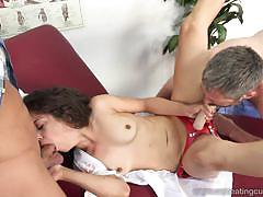 Seductive ziggy star gets her pussy nailed