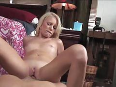 Lovely blonde elaina raye gets banged very hard