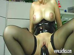 big tits, anal, busty, toy, pussy, fisting, huge dildo, dildo, mature, amateur, fetish, insertion, blond