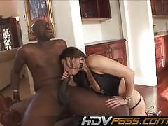 Luscious india summers fucks this huge dick
