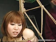 asian, anal, bdsm, bondage, toys, huge dildo, dildo, forced, vibrator, chinese, mistress, japanese, fetish, humiliation, femdom, dungeon, painful, ass fingering