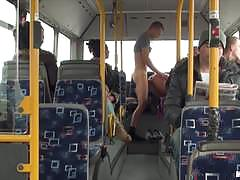 Filthy babe lindsey olsen fucks on a bus