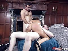 Two big cocks for hungry india summer
